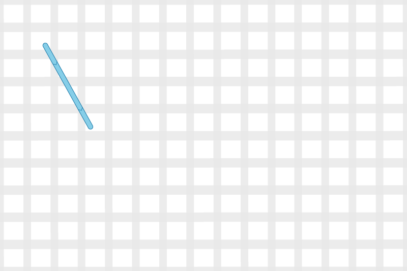 Arrowhead stitch method stage 1 illustration