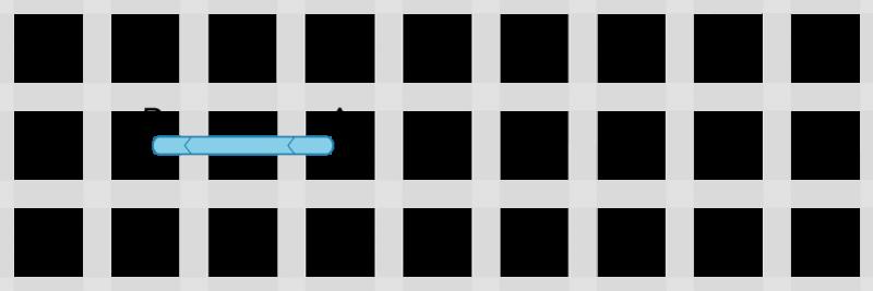 Back stitch method stage 1 illustration