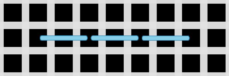Back stitch method stage 4 illustration