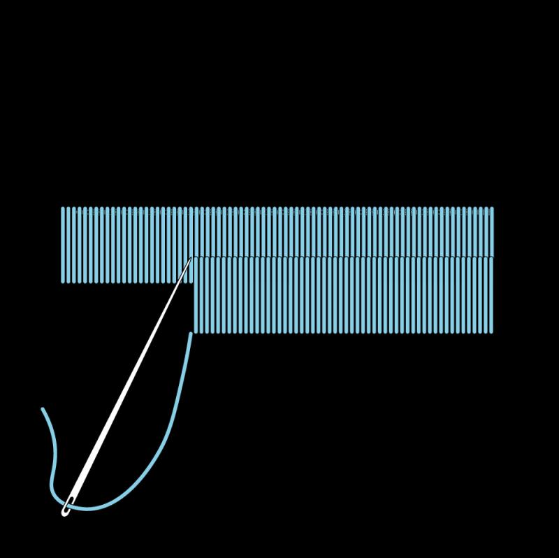 Block shading method stage 4 illustration