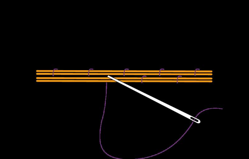Bricking method stage 2 illustration