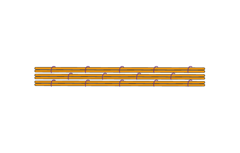 Bricking method stage 4 illustration