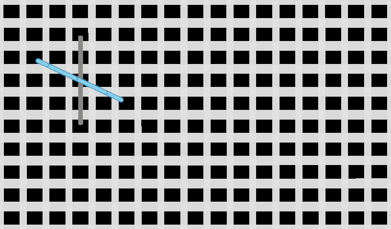 Dutch stitch method stage 2 illustration