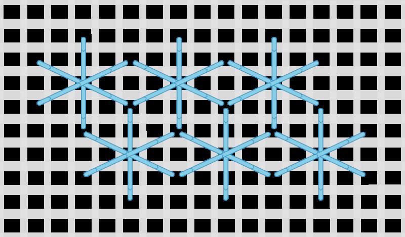 Dutch stitch method stage 5 illustration