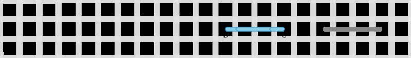 Running stitch method stage 2 illustration