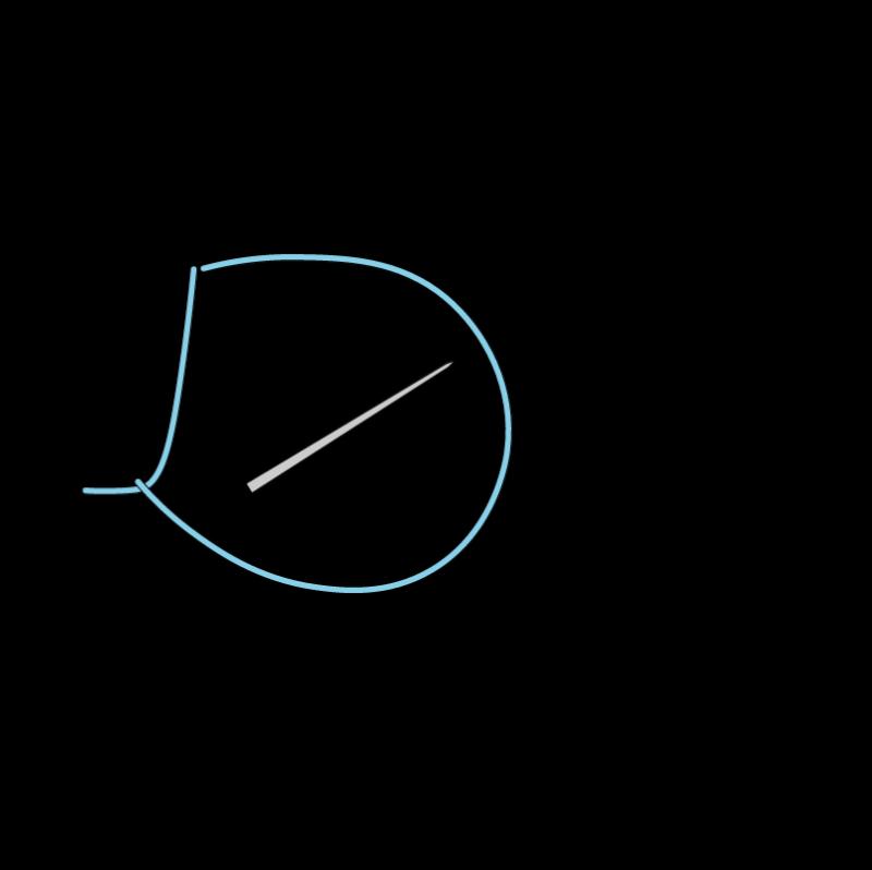 Closed buttonhole stitch method stage 4 illustration