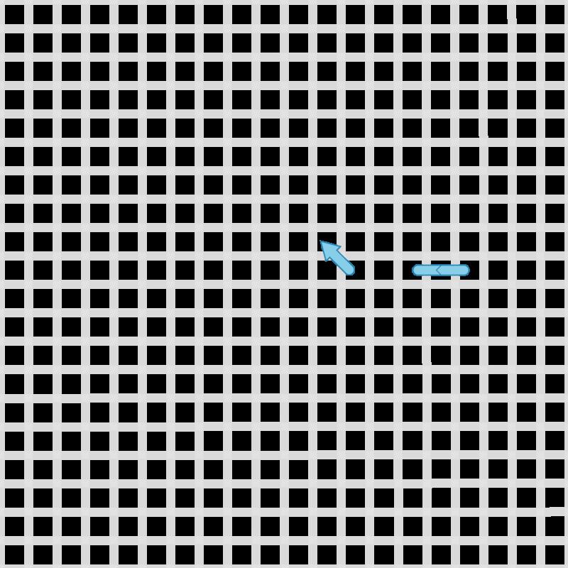 Double running stitch method stage 1 illustration
