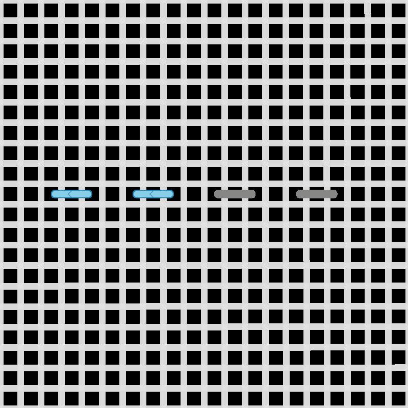 Double running stitch method stage 3 illustration