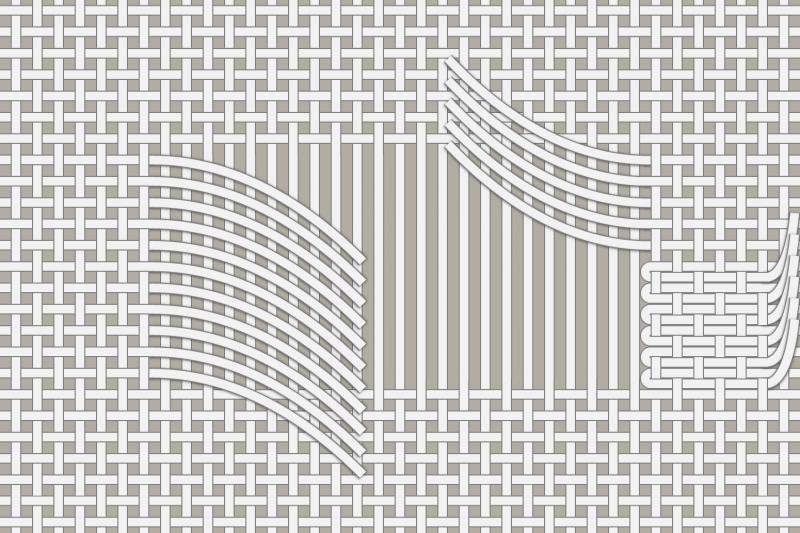 Drawn thread preparation method stage 11 illustration
