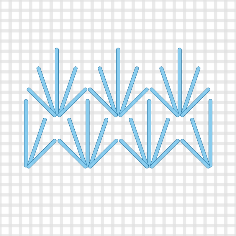 Fan (pattern) method stage 3 illustration
