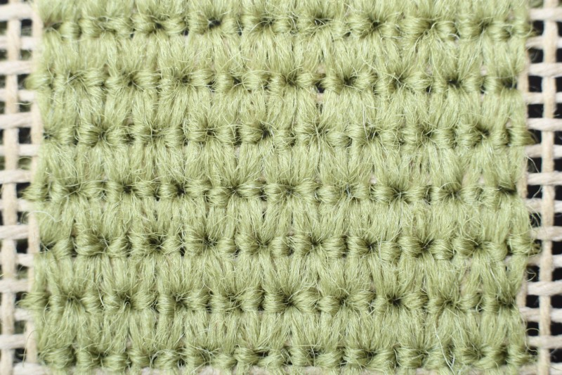 French stitch method stage 5 photograph