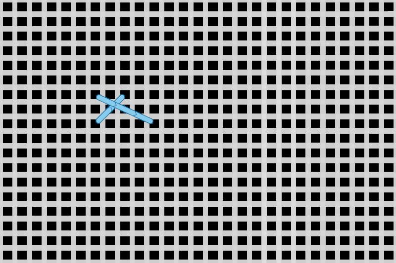 Greek stitch method stage 2 illustration