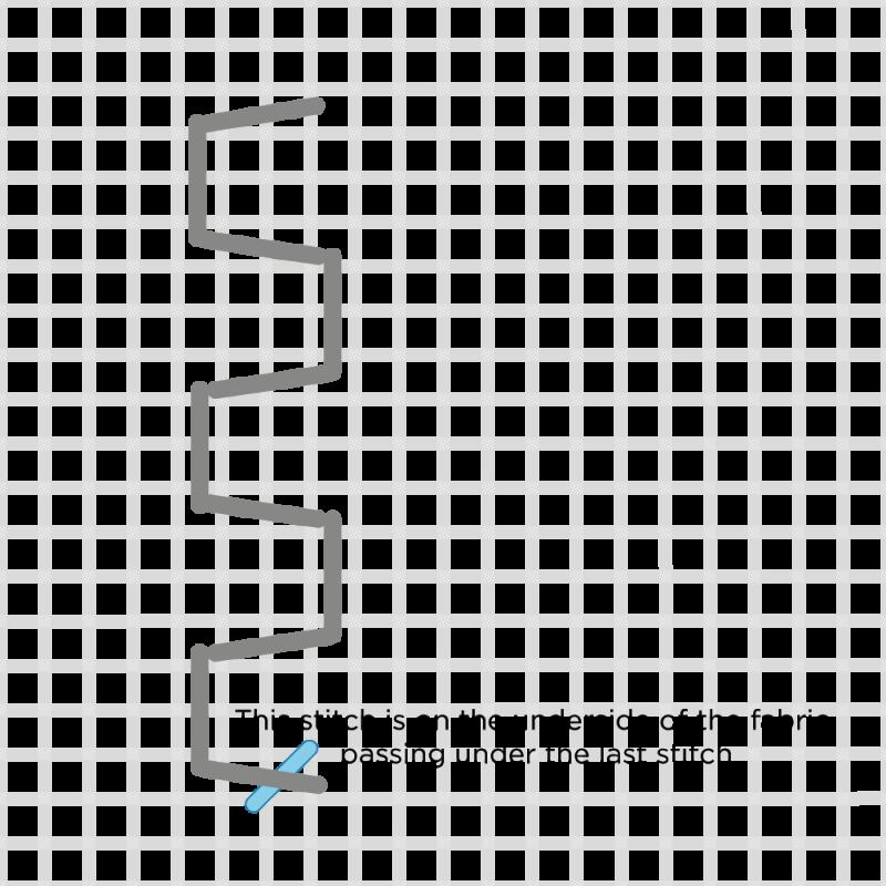 Honeycomb filling method stage 8 illustration