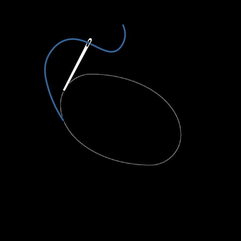Laid work method stage 1 illustration