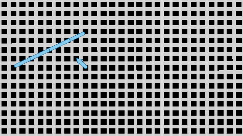 Long-armed cross stitch method stage 2 illustration