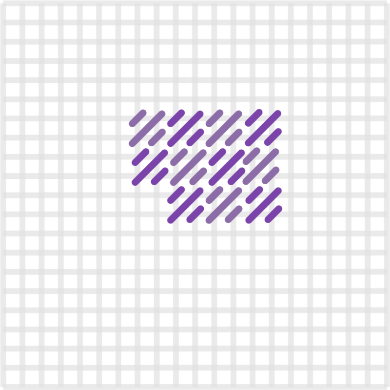 Mosaic stitch method stage 9 illustration