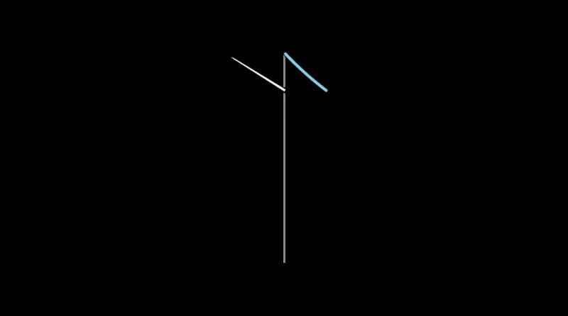 Mountmellick stitch method stage 2 illustration