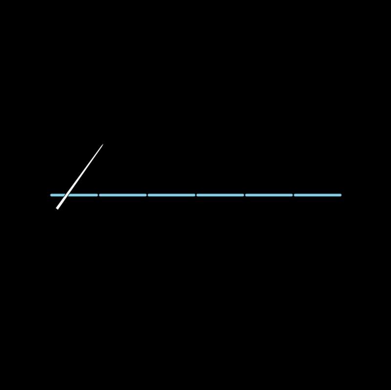 Pekinese stitch method stage 1 illustration