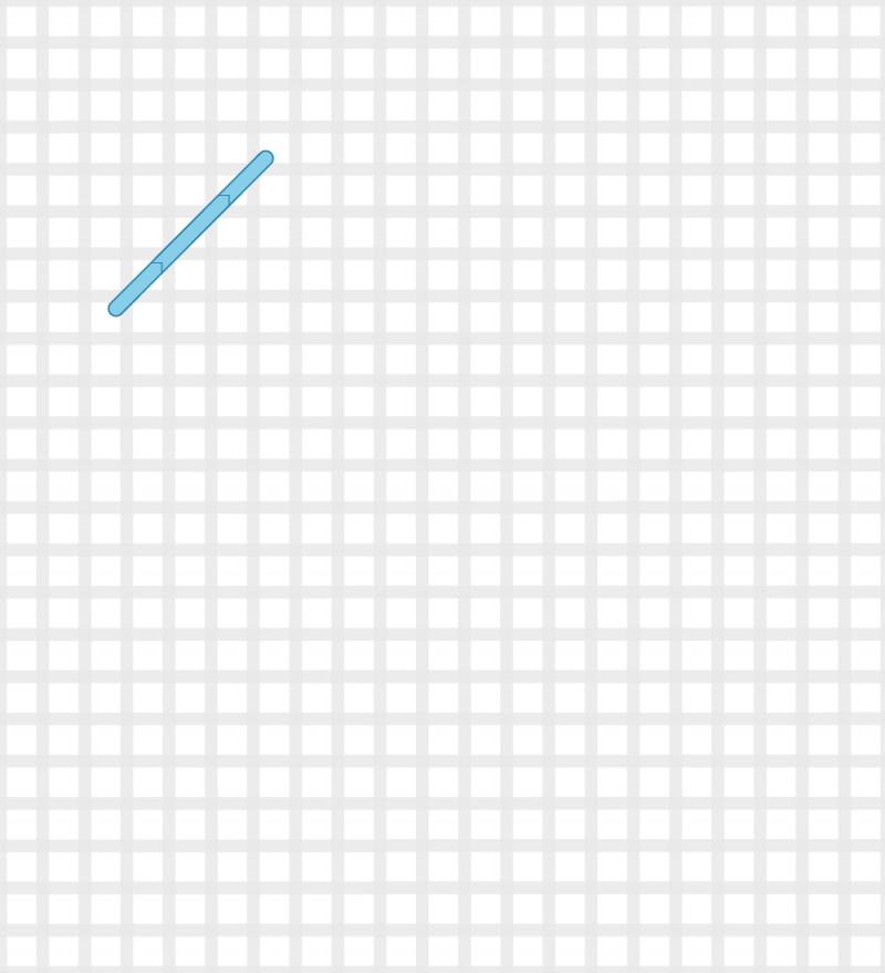 Plait stitch method stage 1 illustration