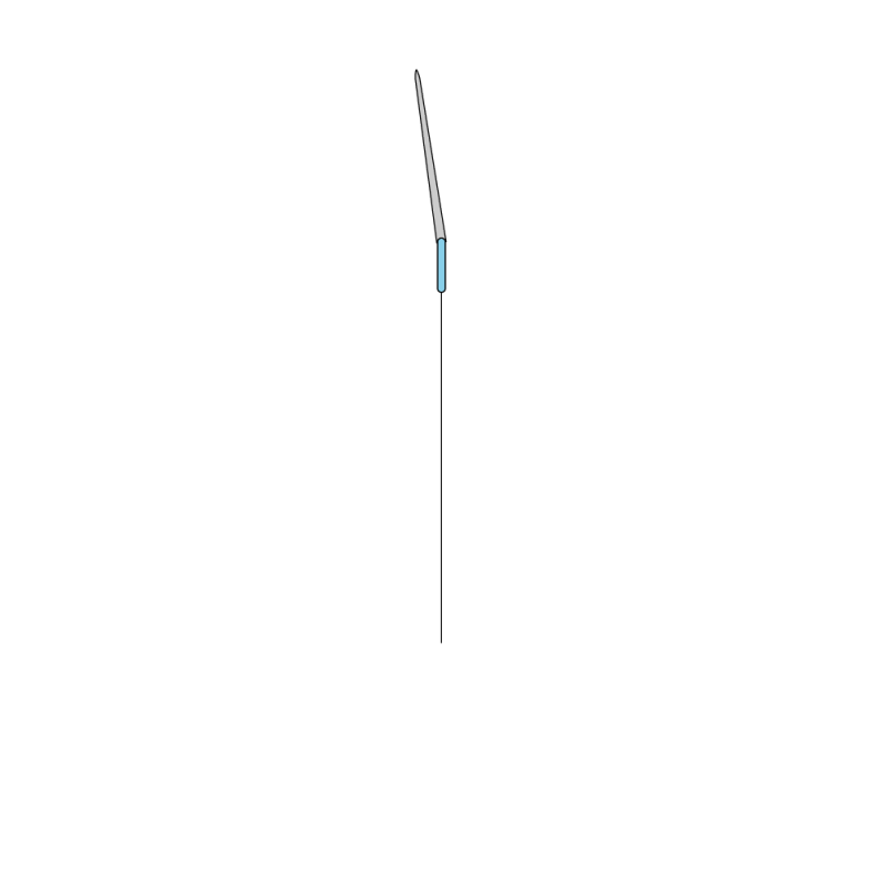 Quaker stitch method stage 2 illustration