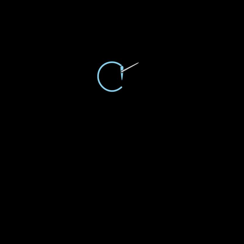 Quaker stitch method stage 4 illustration