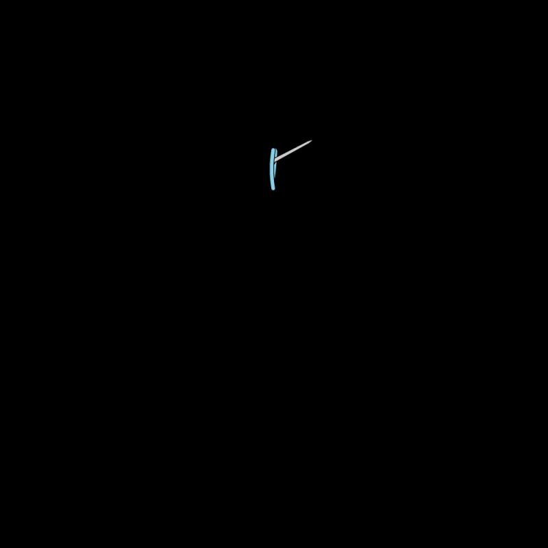 Quaker stitch method stage 5 illustration
