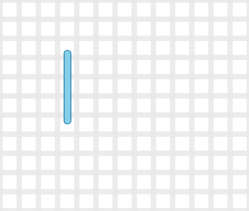 Raised spot stitch method stage 1 illustration