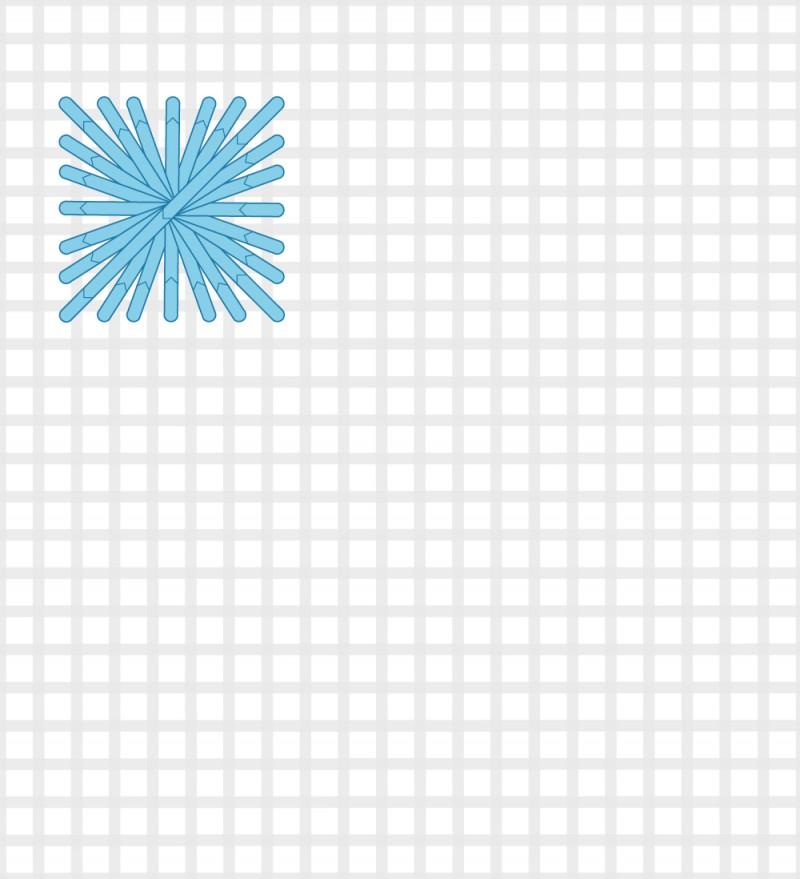 Rhodes stitch method stage 5 illustration