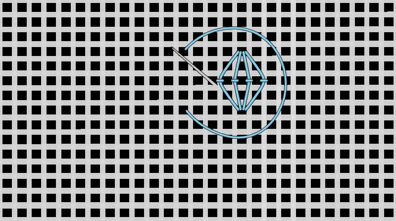 Rococo stitch method stage 6 illustration