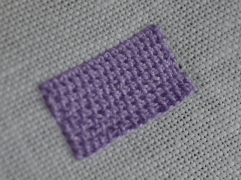 Single corded Brussels stitch main image