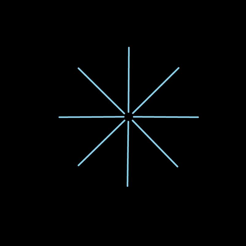 Star eyelet stitch method stage 3 illustration