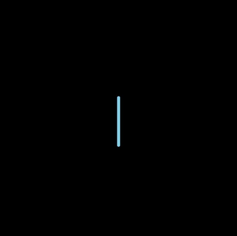 Straight stitch method stage 3 illustration