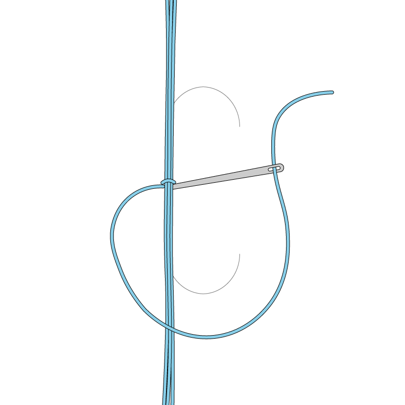 Trailing method stage 3 illustration
