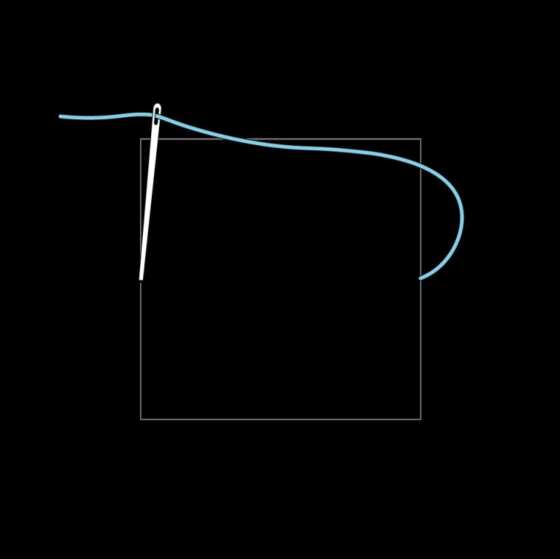 Trellis method stage 1 illustration