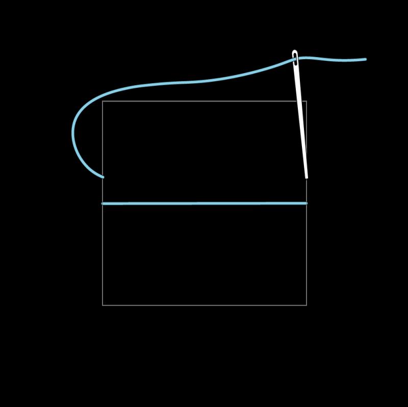 Trellis method stage 3 illustration