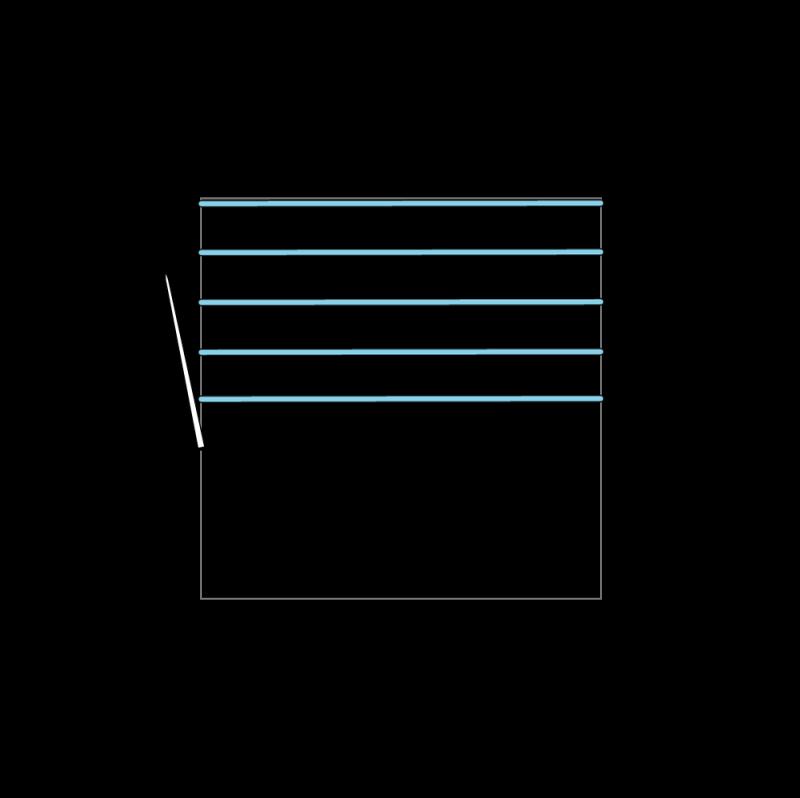 Trellis method stage 4 illustration