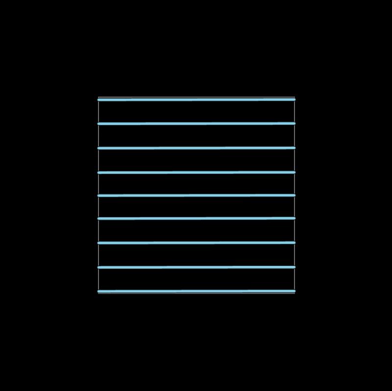 Trellis method stage 5 illustration