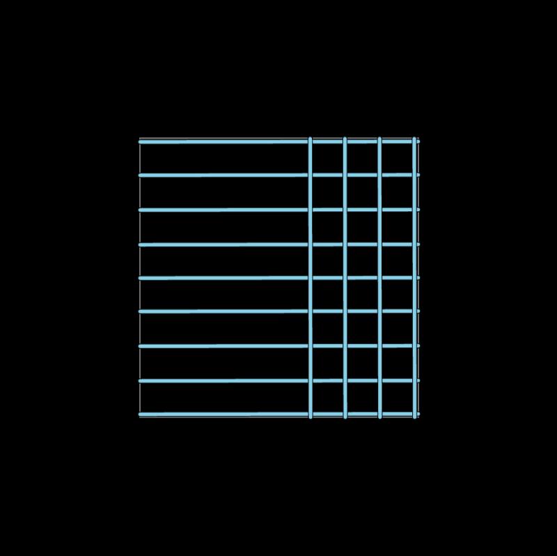Trellis method stage 6 illustration
