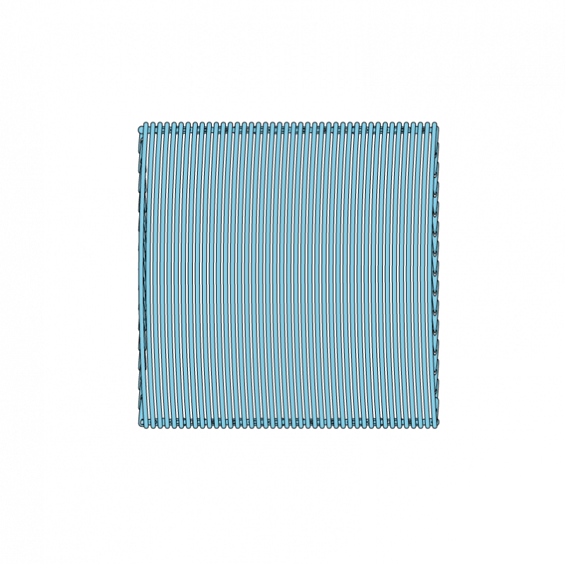 Satin stitch method stage 5 illustration