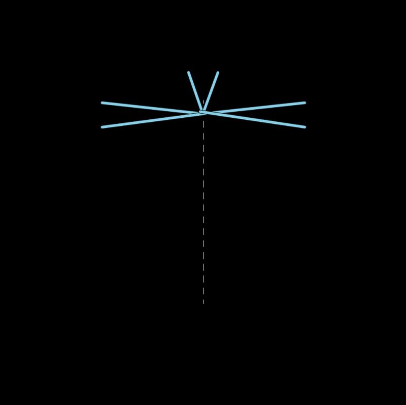 Van Dyke stitch method stage 6 illustration