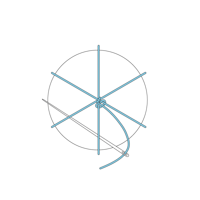 Whipped wheel method stage 8 illustration