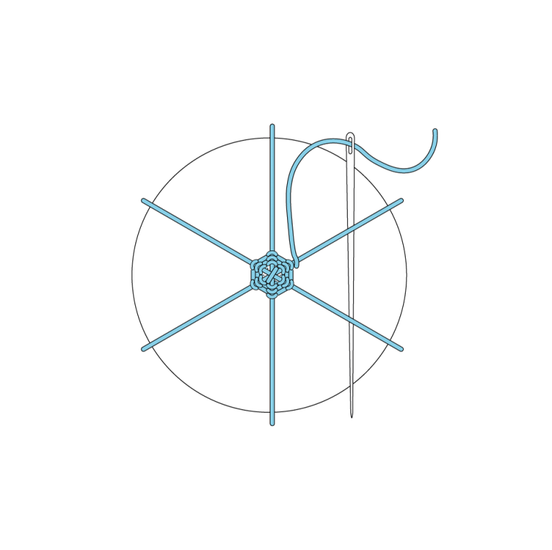 Whipped wheel method stage 9 illustration
